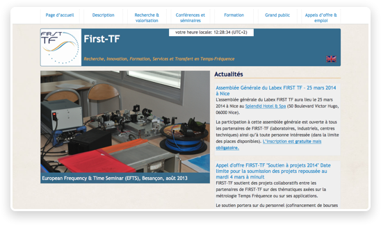 site de First-TF